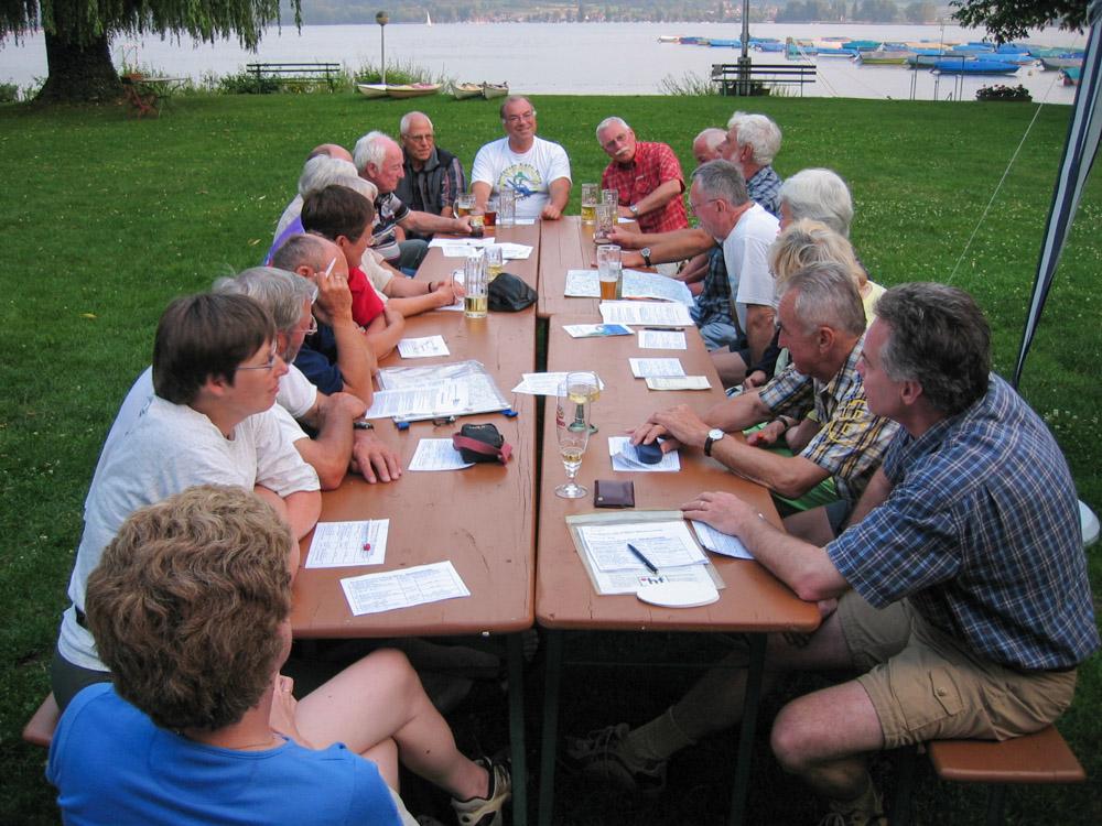 Bodensee Gruppe Fahrtenplanung