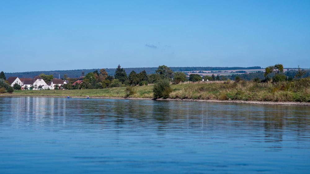 Weser im Oktober